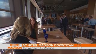 Buzzed Into Madison with the AC Hotel in Madison Wisconsin!
