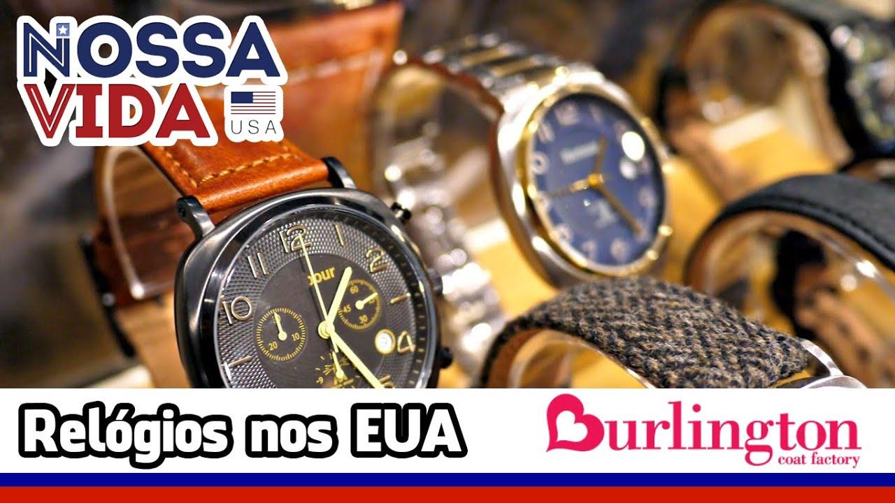6fd60a3f879 Promoção de Relógios nos Estados Unidos - Burlington - Nossa Vida ...