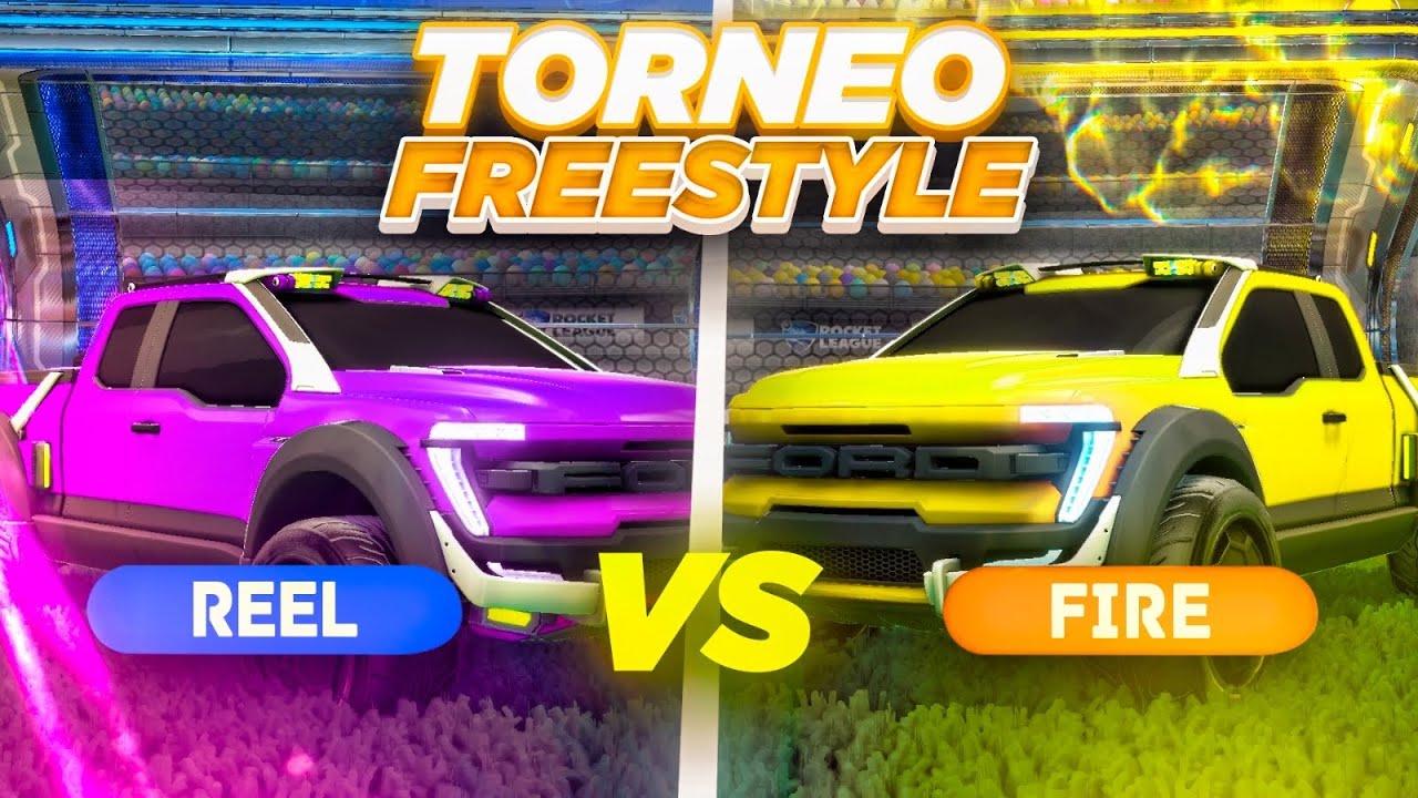 Download REACCIONANDO AL TORNEO OFICIAL DE FREESTYLE 1vs1 🚀 REEL VS FIRE | ROCKET LEAGUE