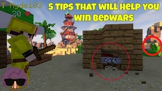 5 Tips That Will Help You Win Bedwars (Hypixel)