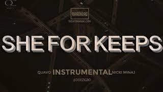 "Quavo x Nicki Minaj - ""She For Keeps"" (Official INSTRUMENTAL)"