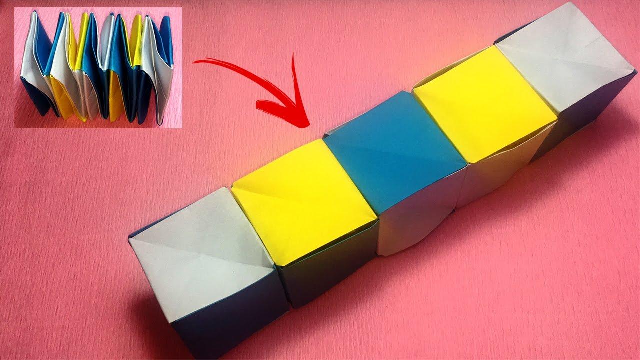 How To Make A Magic Paper Cube Box