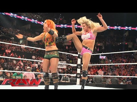 Becky Lynch vs. Charlotte: Raw, January 4, 2016