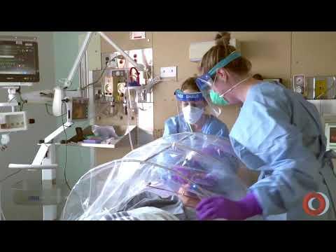 L'Institut au temps de la COVID-19: simulation aux soins intensifs (vidéo promotionnelle 2)