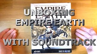 Empire Earth (PC Big box) Unboxing