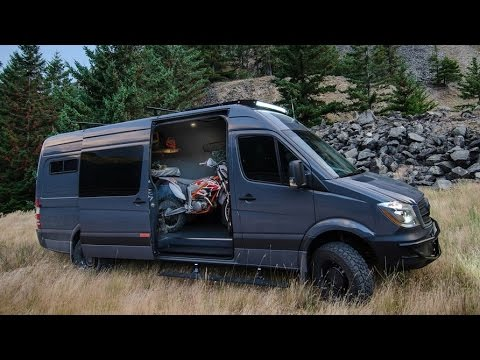 The Lava Flow A Fully Equipped Camper Mercedes Sprinter 4x4s