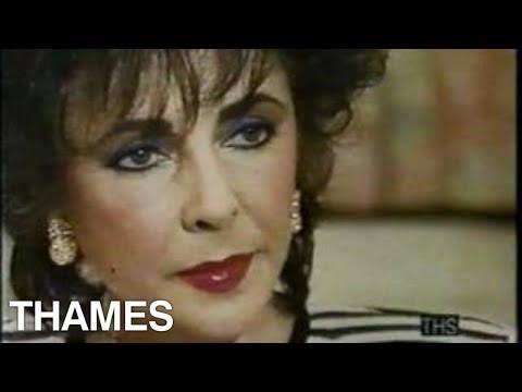 Elizabeth Talyor interview   Mavis on 4   Thames Television  1988