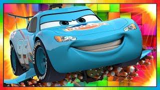 Cars ★ Bliksem McQueen ★ BLAUW