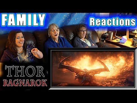 THOR RAGNAROK | FAMILY Reactions | Fair Use
