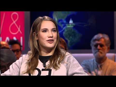 Laura Dekker in Pauw & Witteman (05-03-2012)
