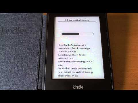 Kindle Paperwhite - Manuelles Softwareupdate