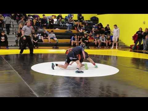 Quarterfinal - Tommy Fitzgerald (West Anchorage) vs. Kalin Woods (Valdez High School)
