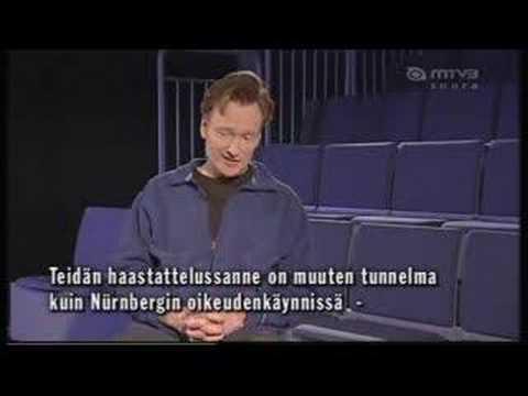 Conan OBrien interview in Huuma