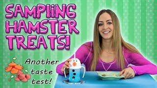 Sampling Hamster Treats! (Another Taste Test)
