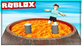 WE're running FROM a VOLCANO in ROBLOX! w/ShimeHD