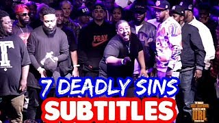 7 Deadly Sins by Charlie Clips and John John Da Don SUBTITLES   SMACK URL Masked Inasense