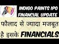 Indigo Paints IPO Financial Analysis   Indigo Paints IPO Latest Update   Indigo Paints IPO Analysis