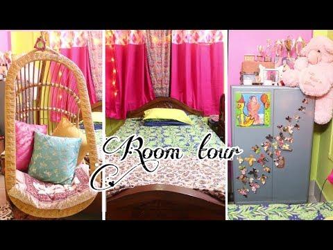 Superior Room Tour: Diy Room Decor Ideas | Indian + Bohemian Colorful Room
