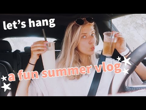 VLOG: workout class, pool time, being an adult