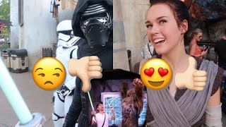 I SHOWED REY & KYLO REN MY LIGHTSABER IN GALAXY'S EDGE - This Is What Happened
