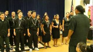 Marshall Island High School Gospel Choir(1)
