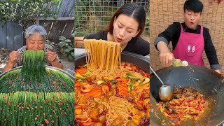 Hometown Chinese food compilation village