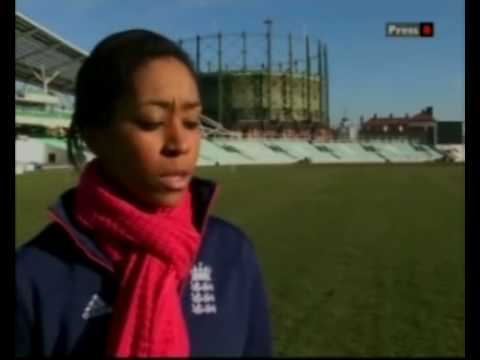 Ebony Jewel Rainford Brent Bbc News Appearance Prior To Departing For World Cup