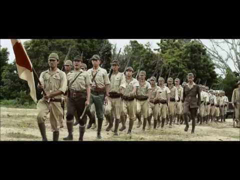 Japanese surrender scene from Oba: The last Samurai