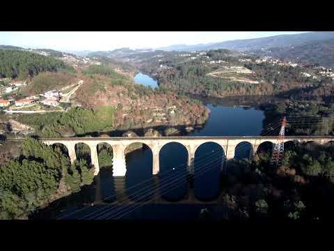 Xiaomi Mi Drone 4k @ Ponte Caminho Ferro Marco de Canaveses