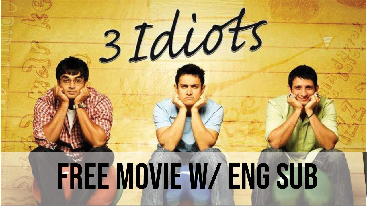 3 idiots full movie with english subtitle free watch
