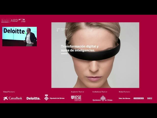 Reinventa't 2019 Girona | Dirigir en la 4RI, amb Xavier Marcet (Barcelona Drucker Society)