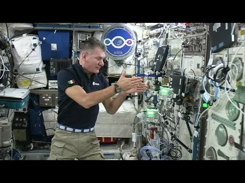 (Italian) Paolo Nespoli launches the European Astro Pi Challenge