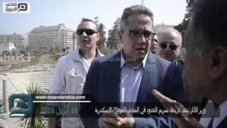 بالفيديو| وزير الآثار: ينتقد