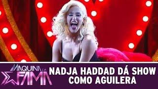 Máquina da Fama (14/09/15) - Nadja Haddad arrasa como Christina Aguillera