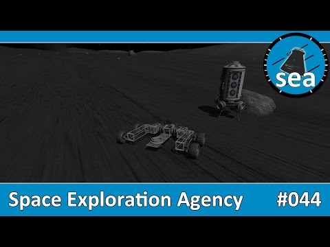 Space Exploration Agency - #044 - Mun Base Rover Landing