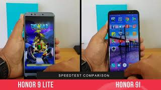 Honor 9 Lite vs Honor 9i Speedtest Comparison- Which is faster?