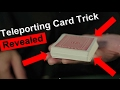 Super Easy Card Trick Tutorial: HOW TO TELEPORT CARDS!!!