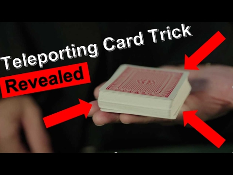 Super Easy Card Trick Tutorial How To Teleport Cards