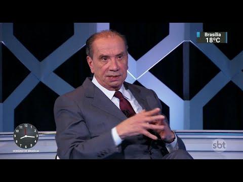 Aloysio Nunes critica situação política do país e fala sobre Bolsonaro | SBT Brasil (30/06/18)