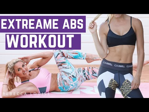 EXTREME ABS - burn belly fat fast!   Rebecca Louise