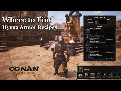 Where to Find Hyena Armor in CONAN Exiles