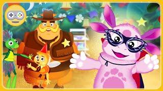 Лунтик Карнавал. Новая игра для детей. Устроим для друзей Лунтика маскарад и праздник в лесу
