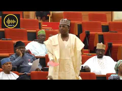 Breaking: Sen. Marafa insult and reject INEC committee report, refused to apologise.