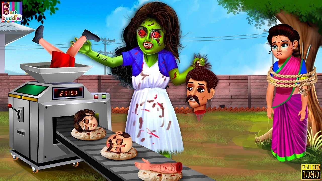 भूतिया गुड़िया रोटी मशीन | Hindi Kahani | Horror Stories | Horror Kahani | Moral Stories | Kahaniyan