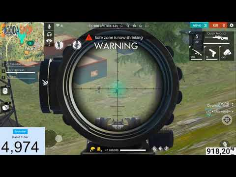 Awm Sniping in Free Fire