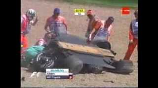 F1 2006 - San Marino Grand Prix - Crash Christijan Albers