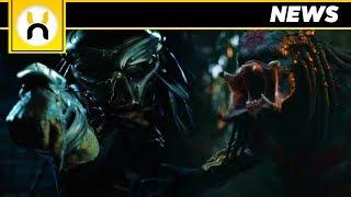 Upgrade Predator vs Predator SDCC 2018 Footage Description | The Predator (2018)