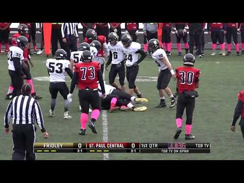 High School Football: Fridley vs. St. Paul Central