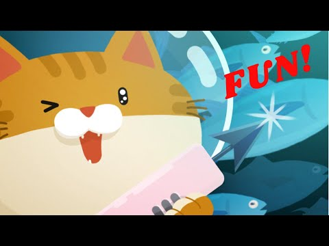 The Fisher Cat - Cute Adventure Cat Care Game for Kids and Children.  Fun!