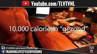 10.000 Calorieën Challenge Melvin Schol
